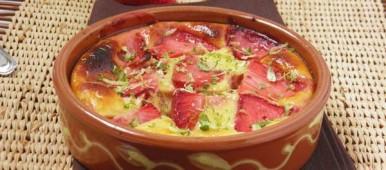 Gratin de fraises et citron vert